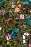 Árbol de navidad (caliente) Fotos de archivo libres de regalías
