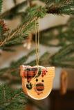 Árbol de navidad. Cerdos Imagen de archivo