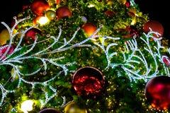Árbol de navidad colorido Imagen de archivo libre de regalías