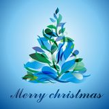 Árbol de navidad colorido Fotos de archivo libres de regalías