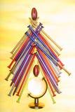 Árbol de navidad de clavos Imagen de archivo libre de regalías