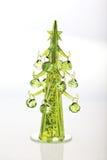 Árbol de navidad de cristal fotos de archivo libres de regalías
