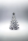 Árbol de navidad de cristal Imagen de archivo libre de regalías