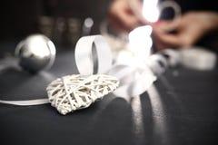 Árbol de navidad de la decoración de Eco Fotografía de archivo libre de regalías