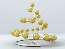 árbol de navidad de la Hola-tecnología stock de ilustración