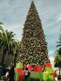 Árbol de navidad de la isla de la moda Imágenes de archivo libres de regalías