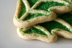 Árbol de navidad de las galletas de azúcar imagen de archivo libre de regalías