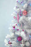 Árbol de navidad de lujo Fotos de archivo