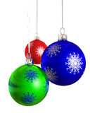 Árbol de navidad de Navidad de la chuchería ilustración del vector