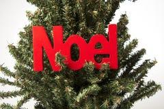 Árbol de navidad de Noel Foto de archivo libre de regalías