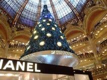 Árbol de navidad de Swarovski Fotos de archivo