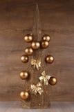 Árbol de navidad decorativo Fotos de archivo