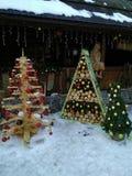 Árbol de navidad decorativo Imagen de archivo