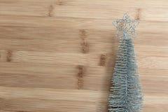 Árbol de navidad decorativo para la decoración fotografía de archivo