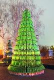 Árbol de navidad del arte Imagen de archivo