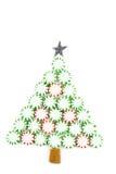 Árbol de navidad del caramelo Fotografía de archivo