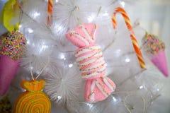 Árbol de navidad del caramelo Fotografía de archivo libre de regalías