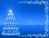 Árbol de Navidad del club Fotos de archivo libres de regalías
