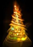 árbol de navidad del color Imágenes de archivo libres de regalías