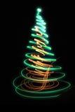 árbol de navidad del color Fotografía de archivo libre de regalías