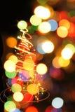árbol de navidad del color Fotografía de archivo