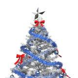 Árbol de navidad del hielo Imagen de archivo
