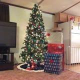 Árbol de navidad del ohh del árbol de navidad Fotos de archivo libres de regalías