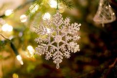 Árbol de navidad del ornamento Imagen de archivo libre de regalías