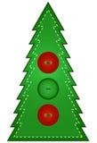 Árbol de navidad del país Foto de archivo libre de regalías