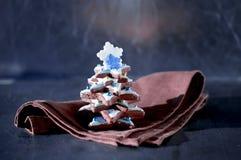 Árbol de navidad del pan de jengibre Foto de archivo libre de regalías