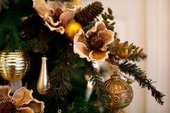 Árbol de Navidad del primer Imagen de archivo