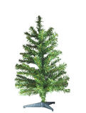 Árbol de navidad descubierto imágenes de archivo libres de regalías