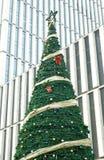 Árbol de navidad en CBD fotografía de archivo