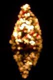 Árbol de navidad enmascarado Imagen de archivo libre de regalías