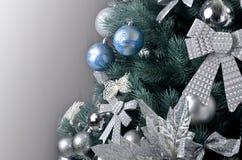 Árbol de navidad grande Fotografía de archivo