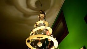 Árbol de navidad hecho en casa y ecológico almacen de video