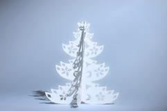 Árbol de navidad hecho a mano Imagen de archivo libre de regalías