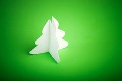 Árbol de navidad hecho a mano Imágenes de archivo libres de regalías