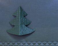 Árbol de navidad hecho a mano Fotos de archivo libres de regalías