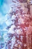 Árbol de navidad hermoso Fotos de archivo