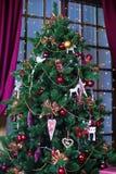 Árbol de navidad integral Fotos de archivo libres de regalías