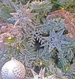 árbol de navidad Invierno-temático del ` del ` Fotos de archivo