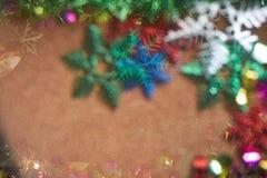 Árbol de navidad de la falta de definición con estilo abstracto Fotos de archivo