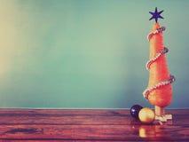Árbol de navidad de la zanahoria Imagen de archivo libre de regalías