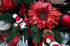 Árbol de navidad de los juguetes Foto de archivo