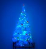 Árbol de navidad místico Imágenes de archivo libres de regalías
