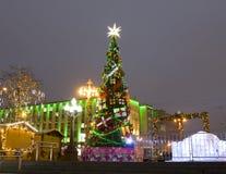 Árbol de navidad, Moscú Imagen de archivo