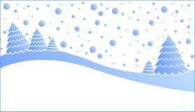 Árbol de navidad, naturaleza stock de ilustración