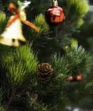 Árbol de navidad por el Año Nuevo fotos de archivo libres de regalías