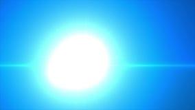 Árbol de navidad que brilla intensamente azul ilustración del vector